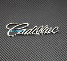 Chrome Metal Emblem 3D Badge Sticker Decal Universal Fit cadillac rR37