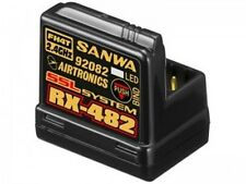 Sanwa RX-482 Receiver 4 channel 2.4GHz Free ship