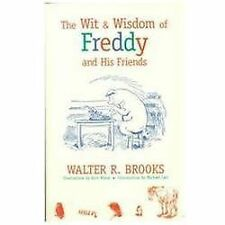 The Wit and Wisdom of Freddy (Freddy the Pig)-ExLibrary