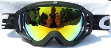 $120 Carrera Mens Crest Green winter Goggles Yellow Spectra Mirror smith Lens