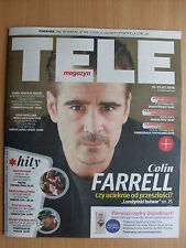 COLIN FARRELL on front cover TELE MAGAZYN 28/2016