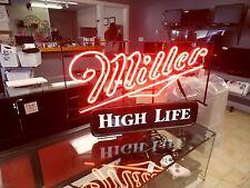 Vintage Neon Miller High Life Sign