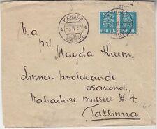 Estonia letter 1930, Kärdla cancel