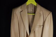 SUPER GORGEOUS  !!! GUCCI  BY TOM FORD MEN FITTED LEATHER JACKET EU 50 US 40