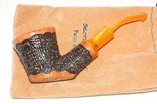 Smoking Pipe Mario Grandi Italian Briar Rusticated