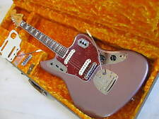 Fender 50th Anniversary Jaguar Burgundy Mist USA Electric Guitar 2012