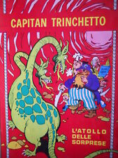 Capitan Trinchetto n°4 1972 L'ATOLLO DELLE SORPRESE ed. Stapem   [G322]