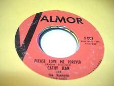 Soul 45 CATHY JEAN AND THE ROOMATES Please Love Me Forever on Valmor