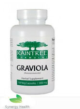 Raintree Organic Graviola  100 * 600mg Caps  UK PostFree Synergy
