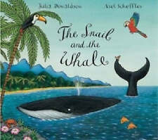 THE SNAIL AND THE WHALE Book by JULIA DONALDSON Children's Reading Picture Story