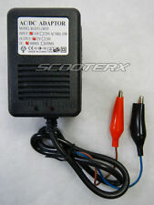 ScooterX 12 Volt AC/DC Automatic Battery Charger Harley Davidson Chopper Bike