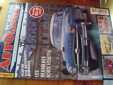 AA Automobilia n°20 DS-ID 1957 Ford Vedette 404 Injection Chevrolet Nomad
