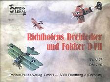 Waffen-Arsenal Band 67 Richthofens Dreidecker und Fokker D VII