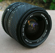 PENTAX  K MOUNT SIGMA 28 -70 mm F/ 1:3.5-4.5 ZOOM Lens SLR DIGITAL FILM CAMERA