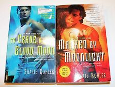 To Crave a Blood Moon & Marked by Moonlight by SHARIE KOHLER 2 PAPERBACK Books!