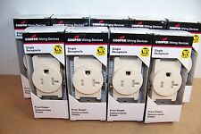 Qty9 Cooper TR1877 Tamper Resistant Child Safety Electrical Outlets Recepticles