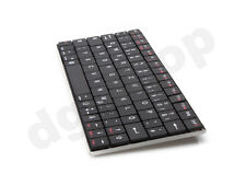 Mini Bluetooth Funk Wireless Kabellos Tastatur für PC Tablet Handy Slim Design