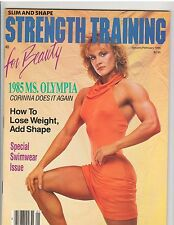 STRENGTH TRAINING female muscle magazine/Ms Olympia CORY EVERSON 2-86