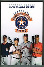 2013 Houston Astros MLB Baseball Media GUIDE