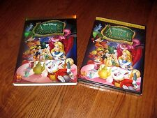Alice in Wonderland: Disney (DVD,2010,2-Disc Set,Un-Anniversary Special Ed.) New