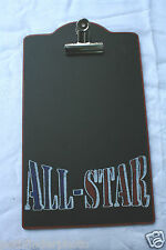 ALL STAR CLIP BOARD PICTURE FRAME HOLDS PICTURE