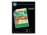 100 sheets HP Professional Glossy Laser Photo Paper CG966A, A4, 200gsm +free 24H