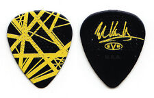 Eddie Van Halen Signature Black/Yellow Frankenstrat Guitar Pick - 2015 Tour