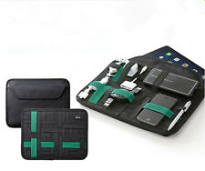 Camping Hiking Storage Gadget Organizer With Tablet Cover Super Elastic Bag T107