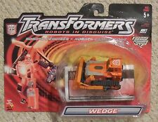 Transformers Rid WEDGE Complete Robots In Disguise 2001 Figure w card