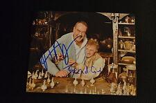 DUSTIN HOFFMAN & BERND EICHINGER signed Autogramm In Person 20x25 cm DAS PARFUM
