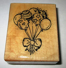 CREATIVE IMAGES RUBBER STAMPS BALLOON BOUQUET STAMP
