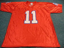 NFL TEAM APPAREL NEW ENGLAND PATRIOTS JULIAN EDELMAN DAZZLE RED JERSEY SIZE XL