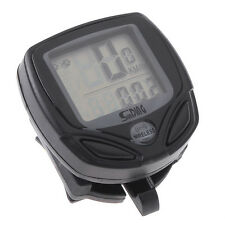 Cycling Wireless LCD Computer Bicycle Bike Meter Speedometer Odometer New Type