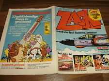 Zack Nº 15/1973 -- michel vaillant + Mick tangy + Andy Morgan + Luc Orient + pancho