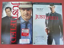 JUSTIFIED: The  First Season DVD (3-Disc) Season 1 - Timothy Olyphant