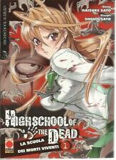 HIGH SCHOOL OF THE DEAD 1 RISTAMPA PLANET MANGA PANINI