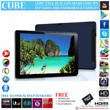 "Cube talk 10 GPS 3G Quad Core 16Go 10.1 ""ips 4.4.2 Téléphone Android Tablet PC"