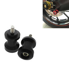 SUZUKI B-King DL650 V-Strom DL1000 V-Strom Swingarm Spools Slider 8mm Black CNC
