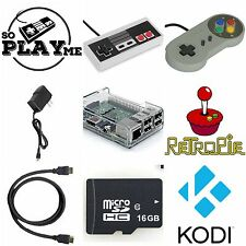 RetroPie Video Game Console - Raspberry Pi 3 - SNES + NES Controllers - Kodi
