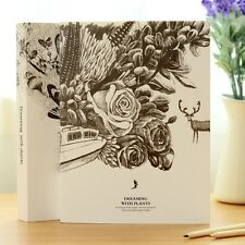 """""""Dreaming Plants"""" 1pc Blank Paper Sketchbook Notebook Drawing Note Diary Journal"""
