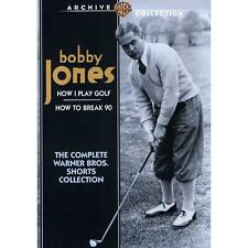 Bobby Jones: The Complete Warner Bros. Shorts Collection (DVD, 2012) NEW