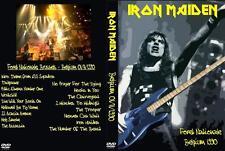 Iron Maiden - Live in Belgium (1990, DVD) Eddie Bruce Dickinson Steve Harris