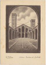 MILANO - BASILICA DI S.AMBROGIO 1954