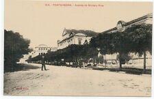 Año 1920. Tarjeta Postal PONTEVEDRA. Avenida de Montero Rios.