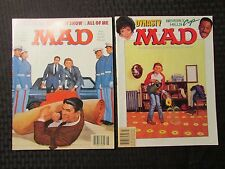 1985 MAD Parody Magazine LOT of 2 #255 FVF #256 FN+ Berverly Hill Cop