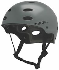 Limited Edition ProTec Water Helmet Satin Grey - Size:L - Kite - Wake - Kayak