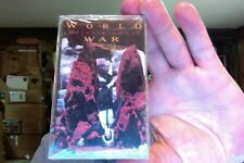 World Entertainment War- self titled- new/sealed cassette tape