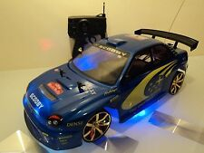 SUBAPU CAR SUBARU IMPREZA STYLE RADIO REMOTE CONTROL CAR 15MPH SPEED 1/10
