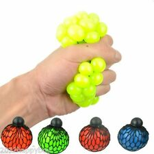 Novelty Soft Squeezing Toys Stress Relief Squeeze Ball Venting Ball Grape Shape