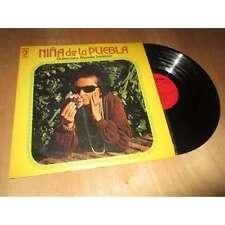 NINA DE LA PUEBLA / MANOLO SANLUCAR - SPAIN FOLK / FLAMENCO DISCOPHON Lp 1973